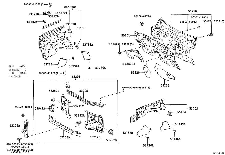 Wiring Diagram: 33 Toyota Tundra Interior Parts Diagram