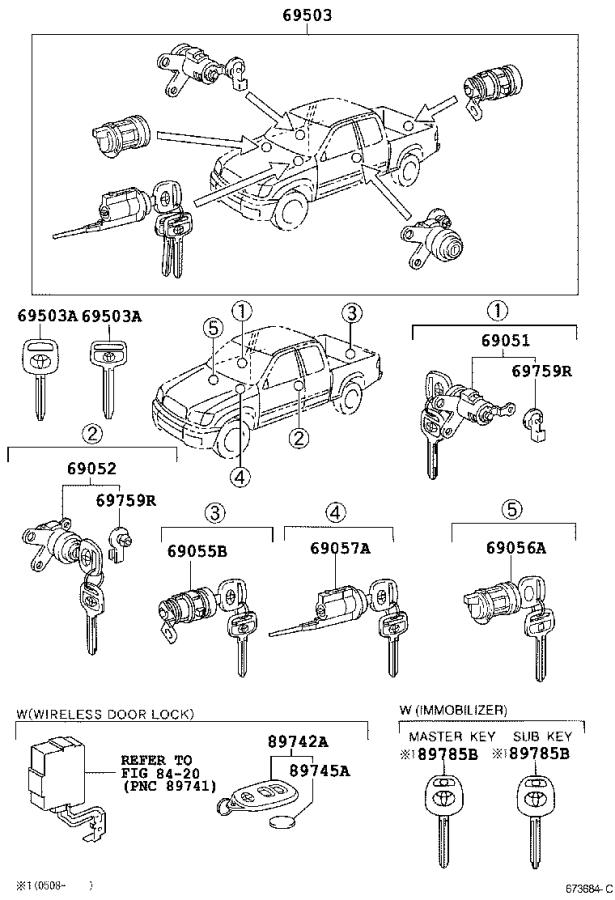 2002 Toyota Tundra Body Parts Diagram. Toyota. Auto Wiring