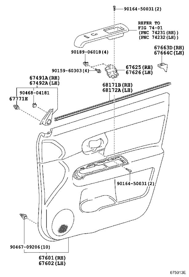 Scion XB Door Check (Left, Right, Front). A mechanism used