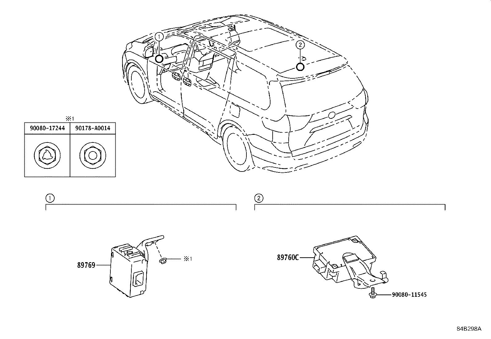 Toyota Sienna Tire Pressure Monitoring System Control
