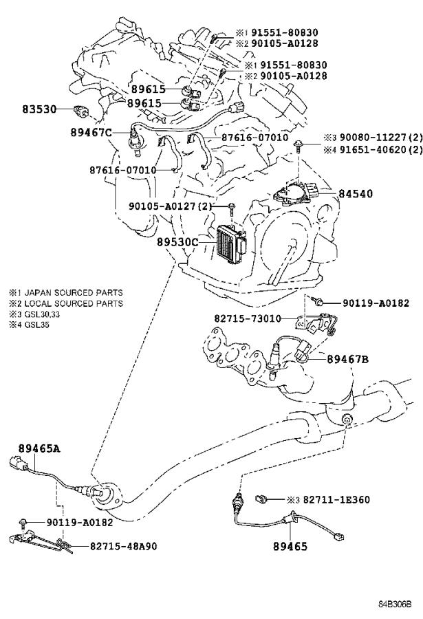 Toyota Sienna Block assembly, instrument panel junction