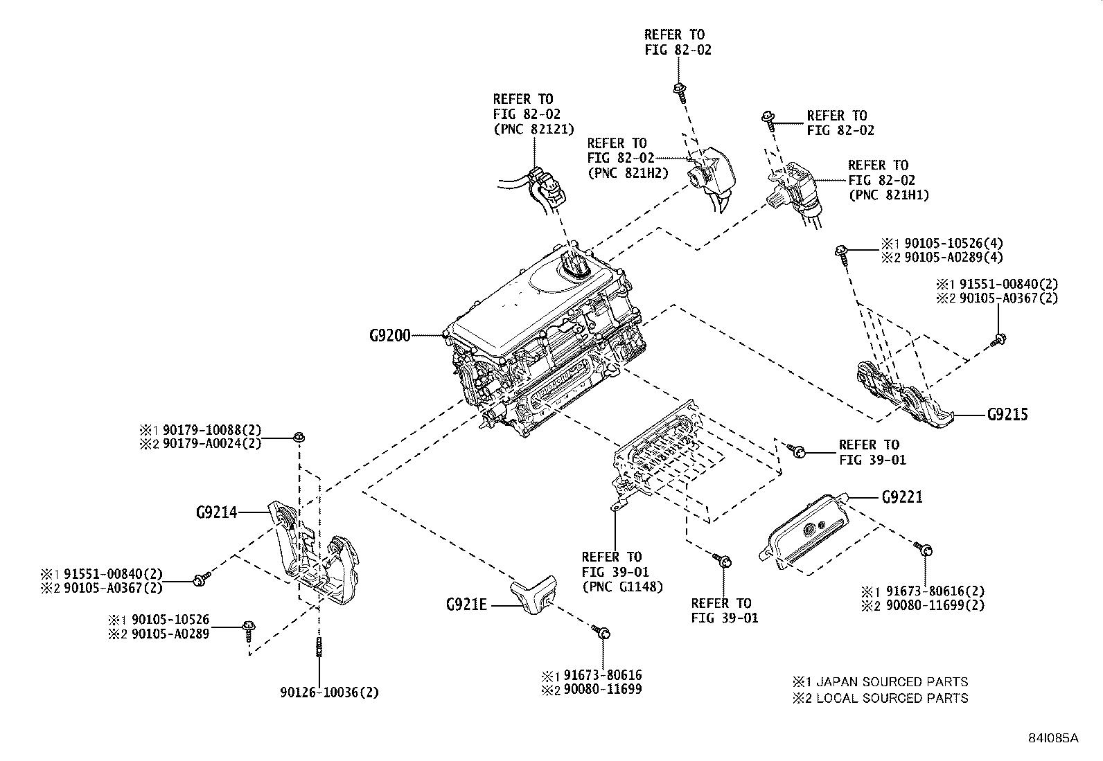 Toyota Camry Drive Motor Inverter Inverter With