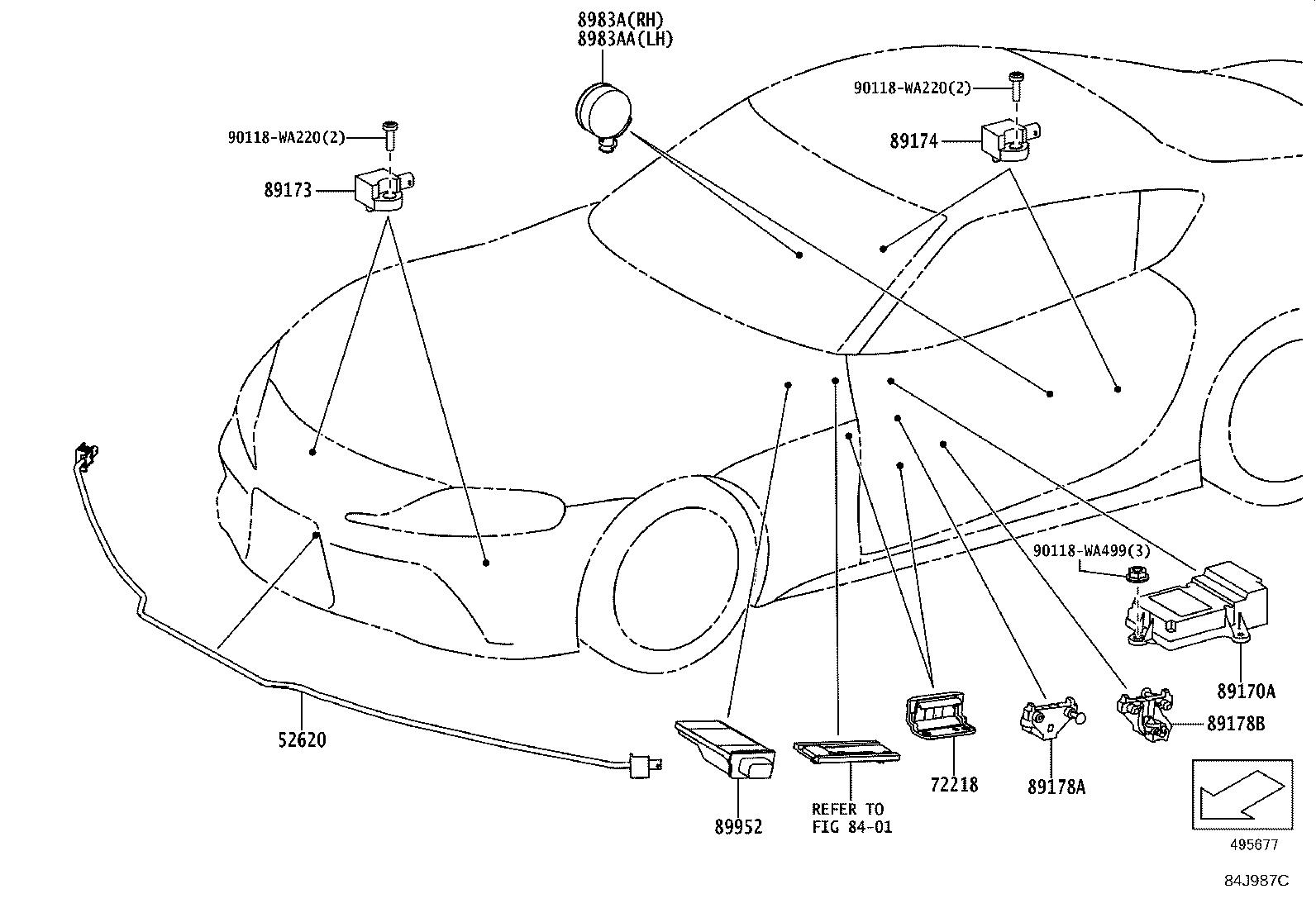 Toyota Supra Chamber Assembly Pedestrian Detection