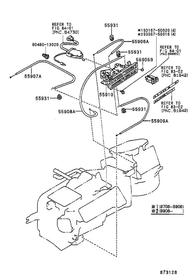 Toyota Corolla Duct sub-assembly, air, no. 1. Usa, spec