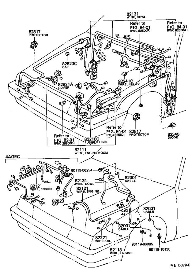 [PSHR_4467] Toyota Corolla Ae82 Wiring Diagram Download