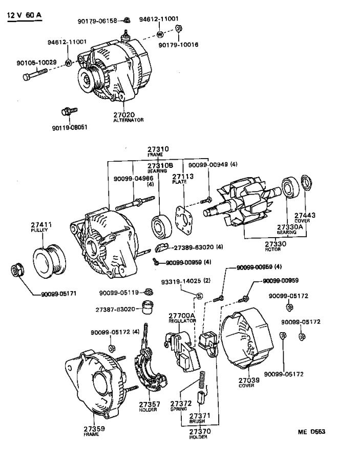 Wiring Diagram Further 1992 Toyota Tercel Wiring Diagrams Further 1987