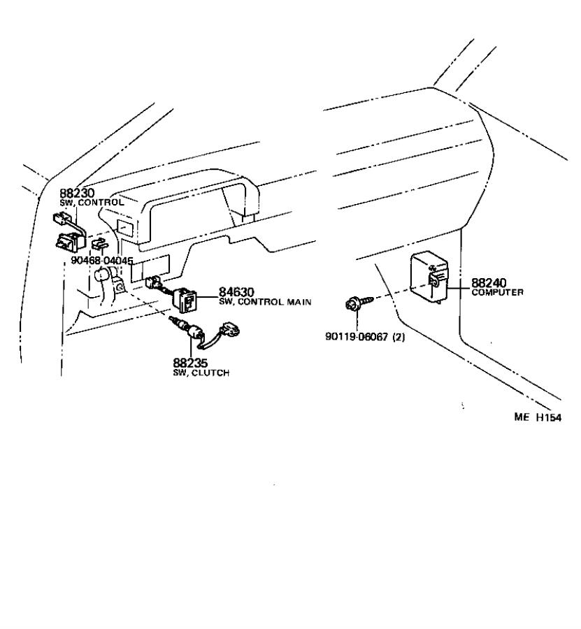 Toyota Camry Switch assembly, cruise control(auto drive