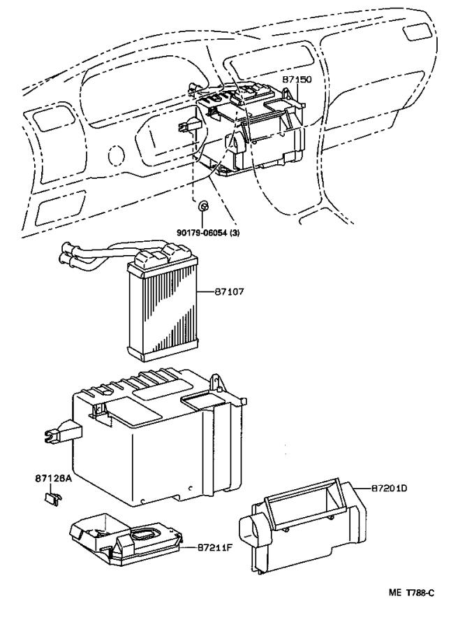 Toyota Corolla Harness sub-assembly, wiring air
