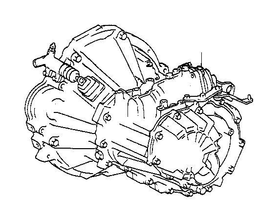 Toyota Corolla Manual Transmission. TRANSAXLE, Assembly
