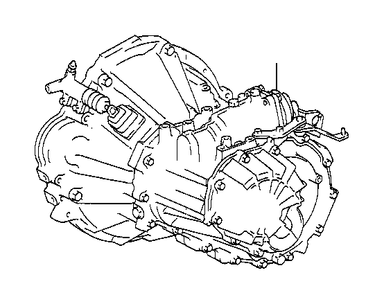 Toyota MR2 Transaxle assembly, manual. Transmission