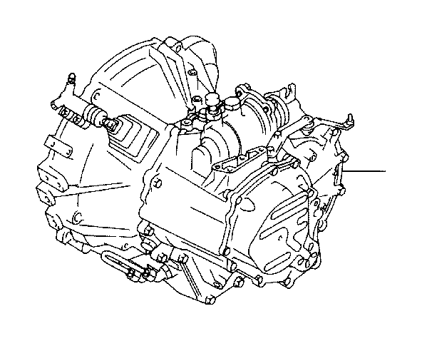 Scion TC Transaxle assembly, manual. Transmission