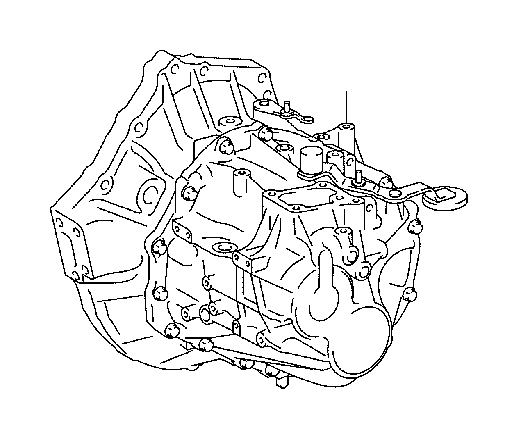 Scion TC Manual Transmission. Assembly, Transaxle