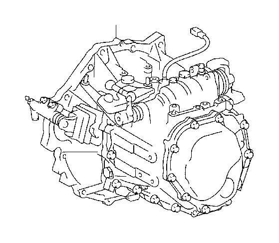 Toyota Yaris Manual Transmission. Assembly, MTM, TRANSAXLE
