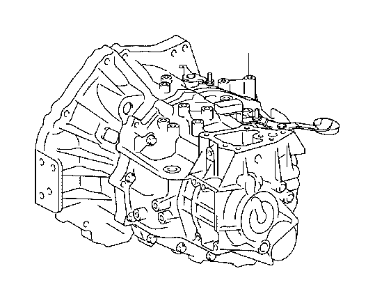 Toyota Corolla iM Transaxle assembly, manual. Transmission