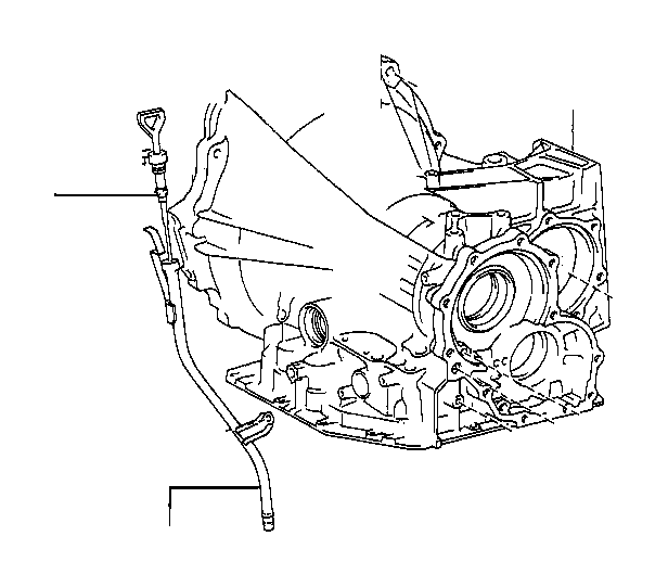 Toyota Solara Tube sub-assembly, transmission oil filler