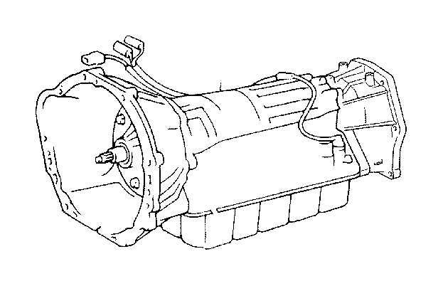 Toyota 4Runner Transmission assembly, automatic. Atm