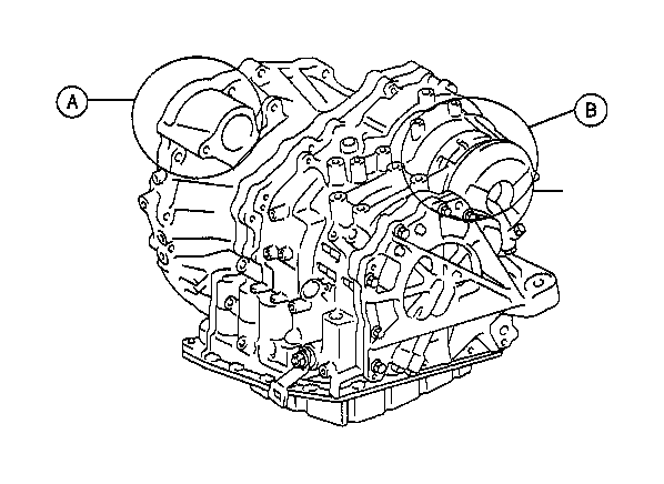 Toyota Camry Automatic Transmission. Assembly, TRANSAXLE