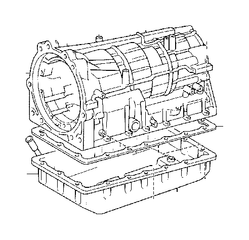 Toyota Tundra Case sub-assembly, automatic transmission