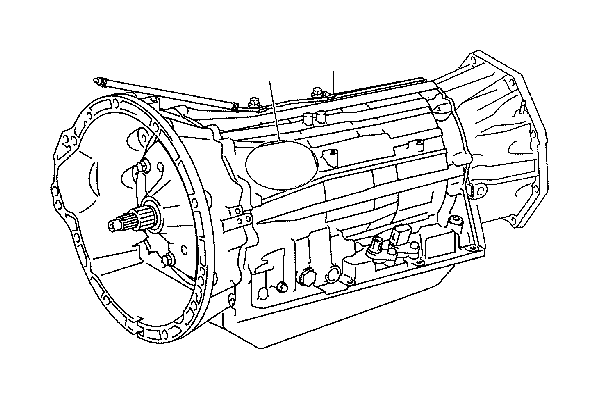 Toyota Land Cruiser Automatic Transmission. Assembly, ATM