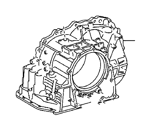 Toyota Echo Case sub-assembly, automatic transaxle. Atm