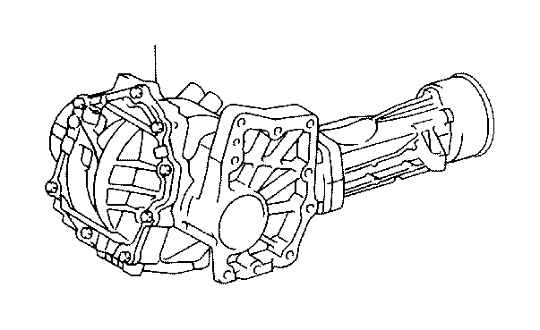 Toyota Matrix Transfer assembly. Driveline, transmission