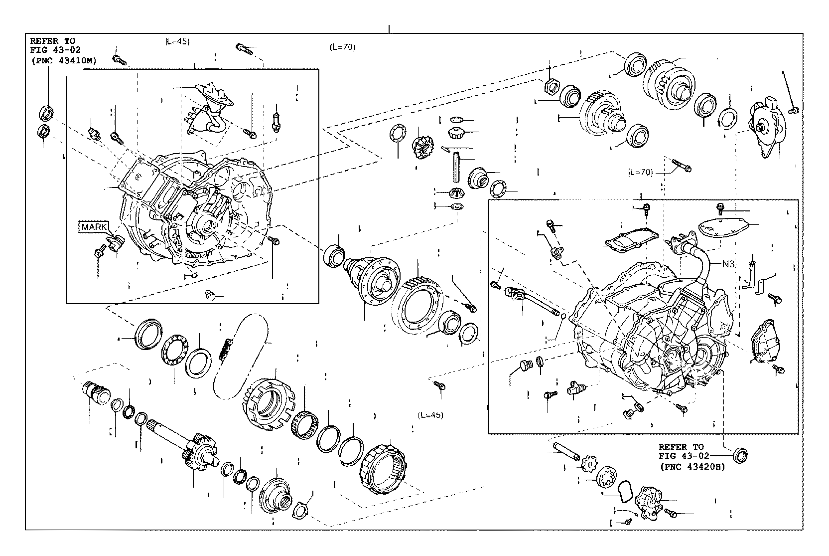 Toyota Prius Generator assembly, hybrid vehicle