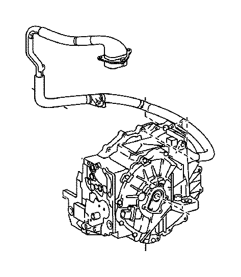 Toyota Camry Cover sub-assembly, transmission oil pump