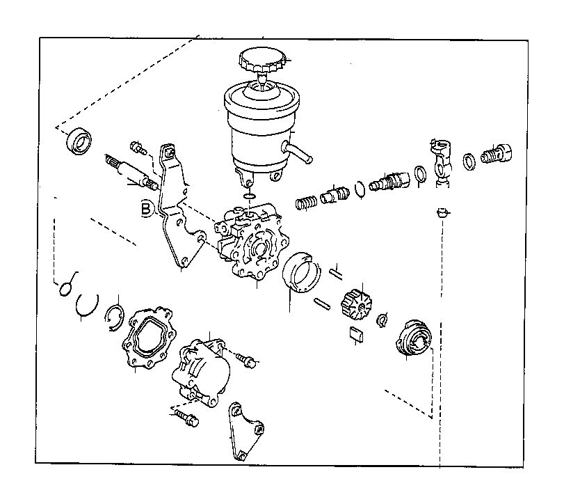 Toyota Corolla Valve assembly, flow control. Suspension