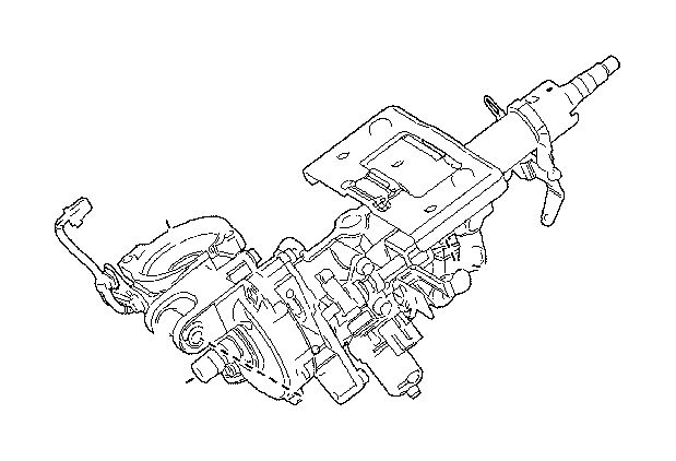 Toyota Corolla Column sub-assembly, electric power