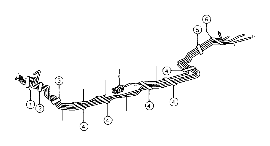 Toyota Tacoma Pipe, charcoal canister, no. 2. Interior