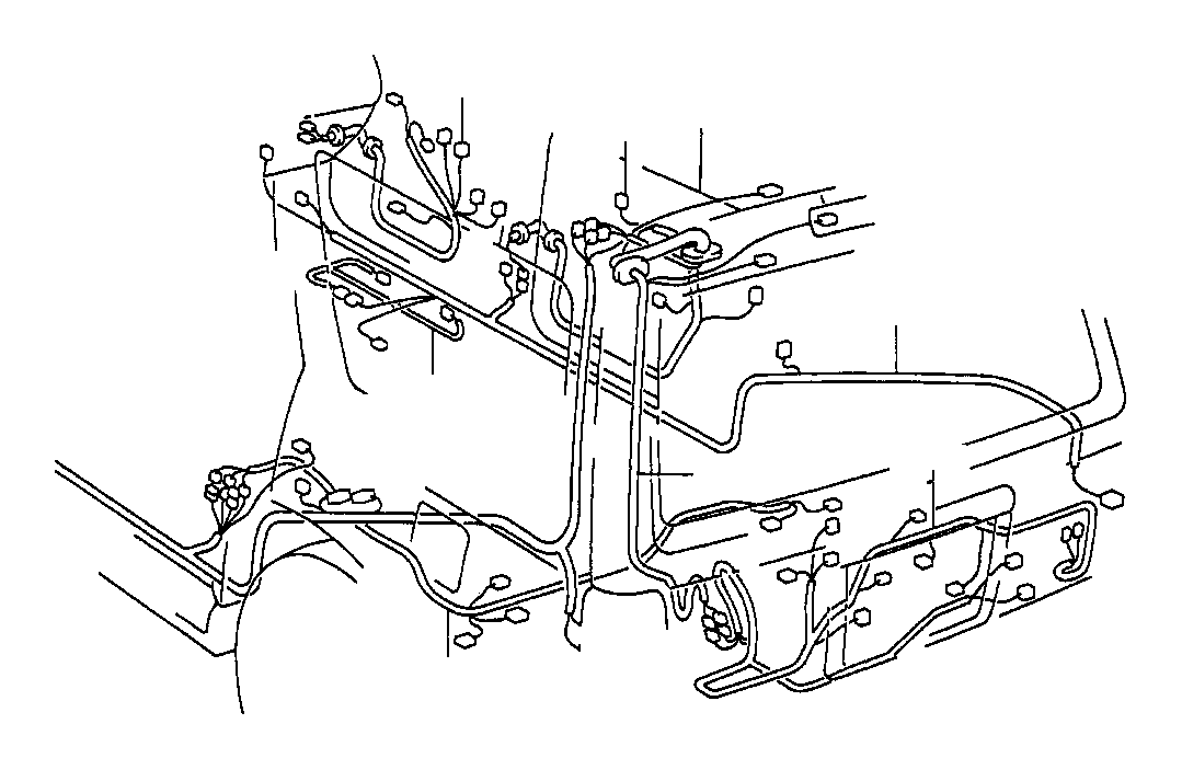 Toyota 4Runner Wire, back door, no. 1. Electrical, wiring