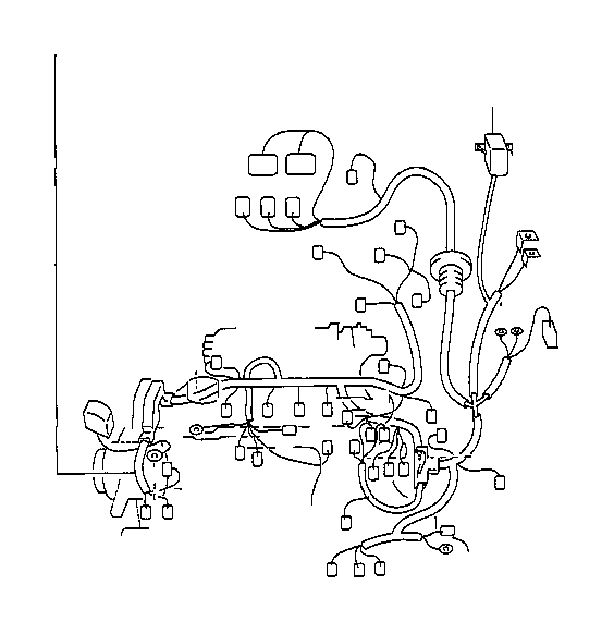 Toyota RAV4 Wire, engine. Electrical, wiring, clamp, atm