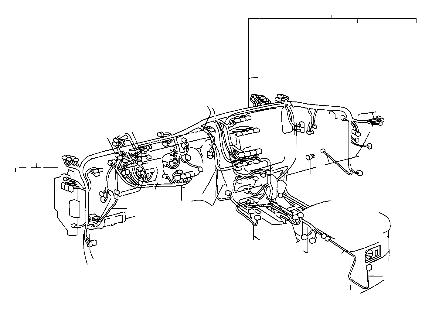 Toyota Land Cruiser Wire, column. Wiring, electrical