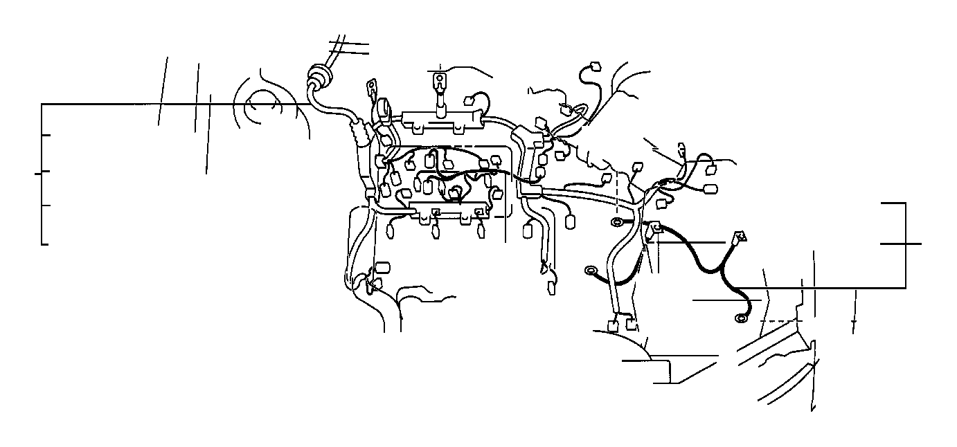 Toyota Camry Engine Wiring Harness. Wire, Engine. ATM