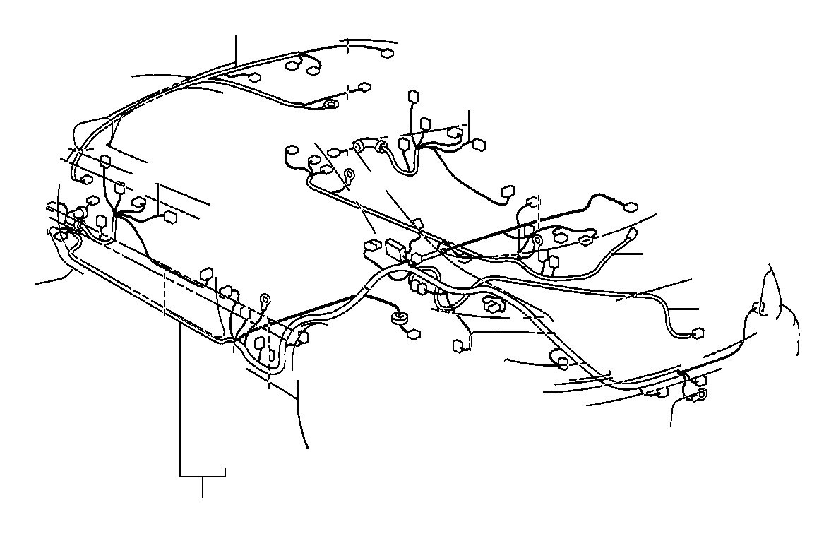 Toyota Solara Wire, floor, no. 2. Electrical, wiring