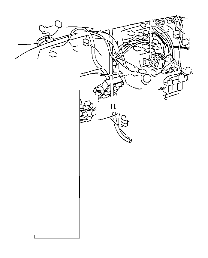 Toyota Camry Wire, instrument panel. Electrical, wiring