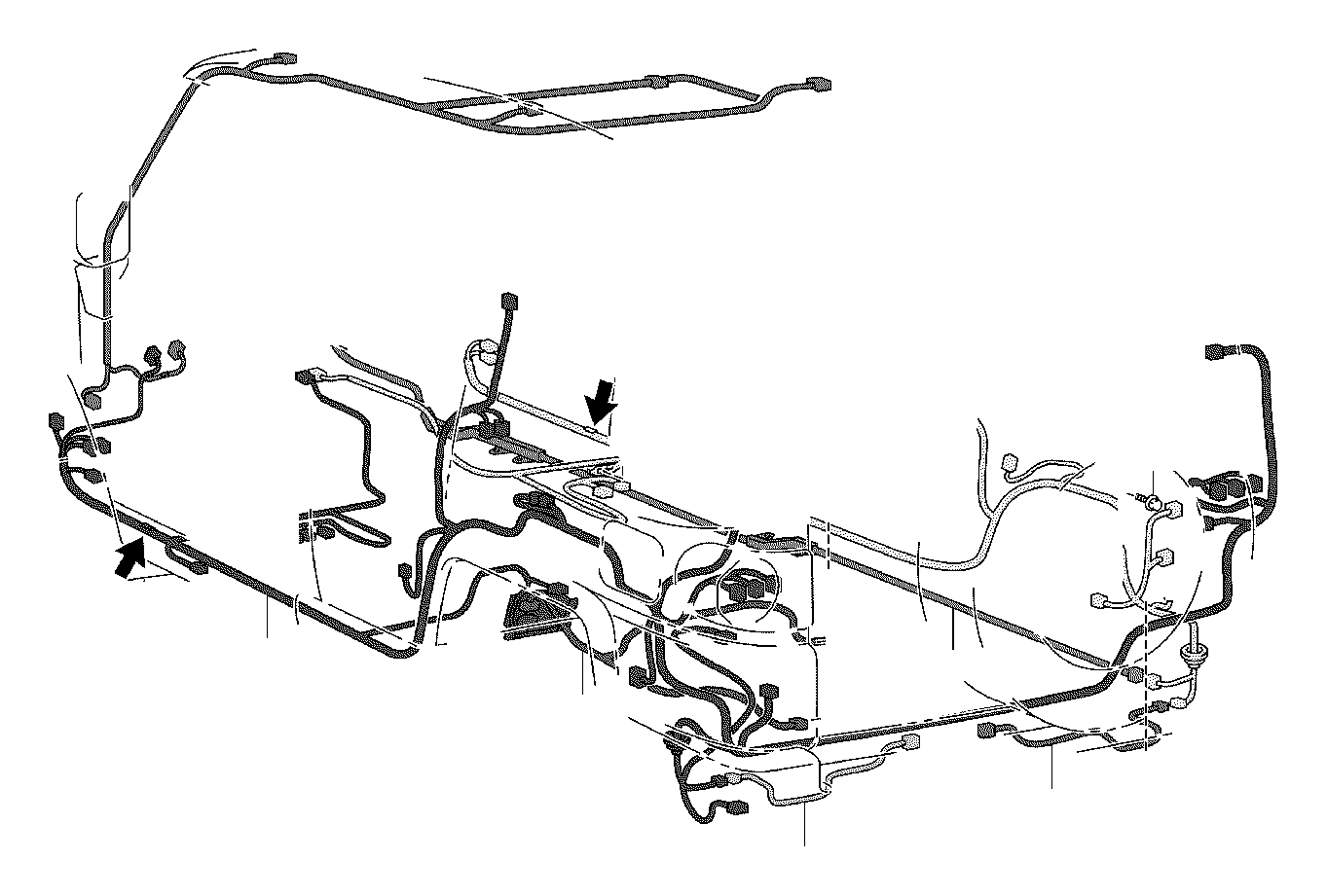 Toyota FJ Cruiser Wire, frame. Electrical, wiring