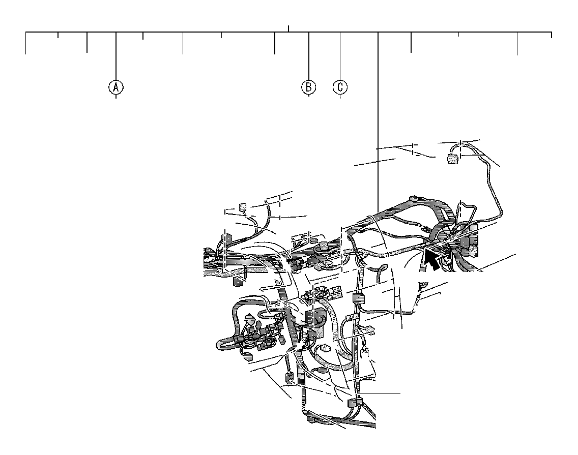 Toyota Avalon Connector Wiring Harness