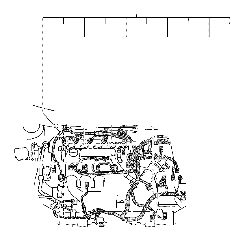 Toyota Matrix Wire, engine. Wiring, electrical, clamp