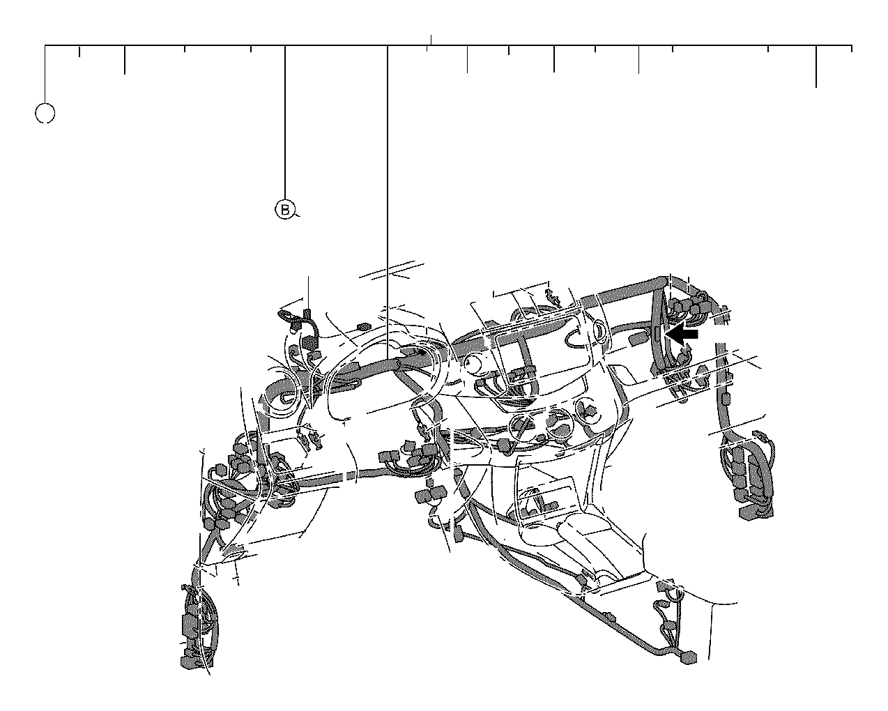 Toyota RAV4 Holder, connector no. 10. Electrical, wiring