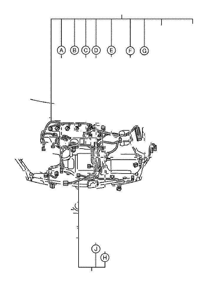 Toyota Prius Wire, engine. Wiring, electrical, clamp