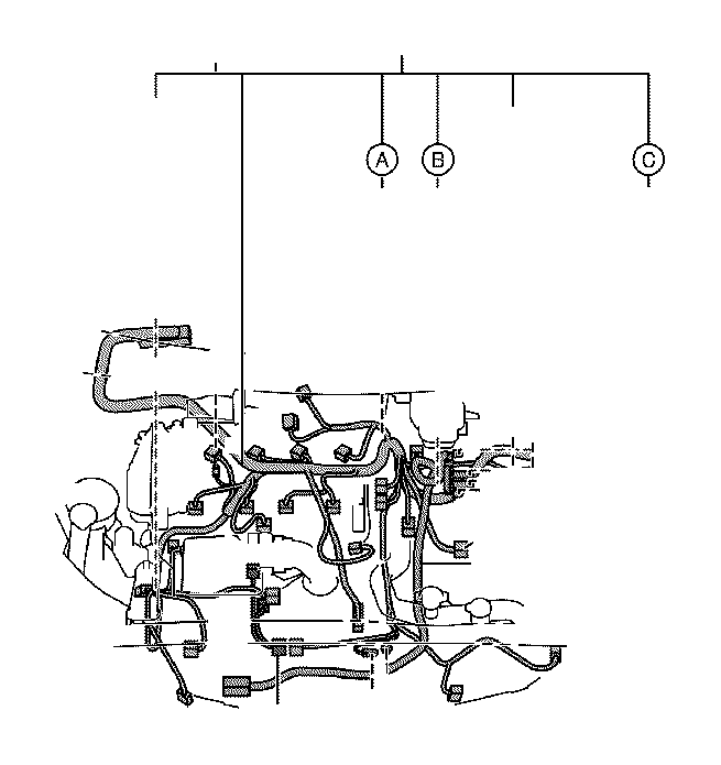 Toyota Prius c Wire, engine, no. 2. Electrical, wiring
