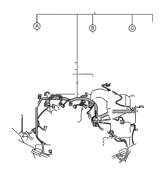 Toyota RAV4 Wire, engine. Wiring, electrical, clamp