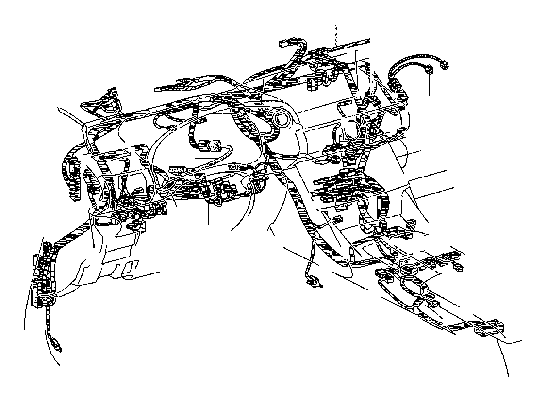 Toyota Highlander Wire; wire assembly. Instrument panel