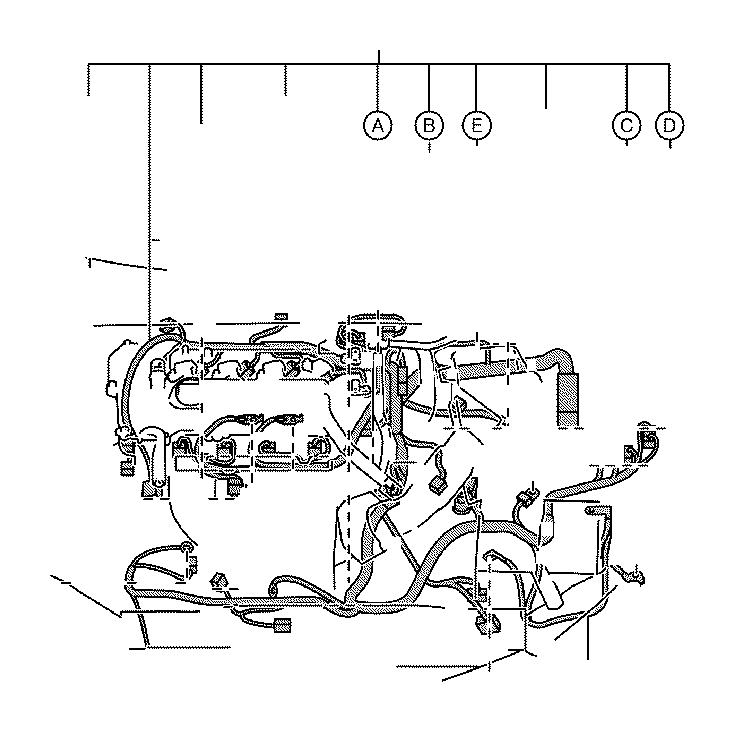 Toyota Corolla Battery Cable. Wire, Engine, NO.3. CVT