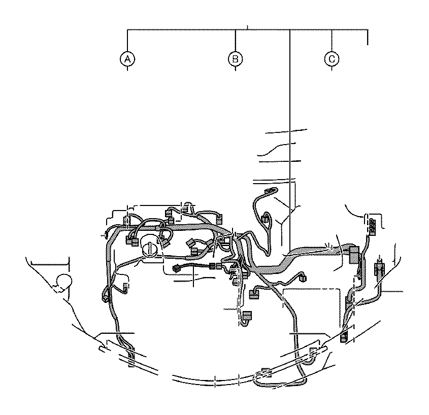 Toyota RAV4 Wire, engine room, no. 2. Wiring, electrical