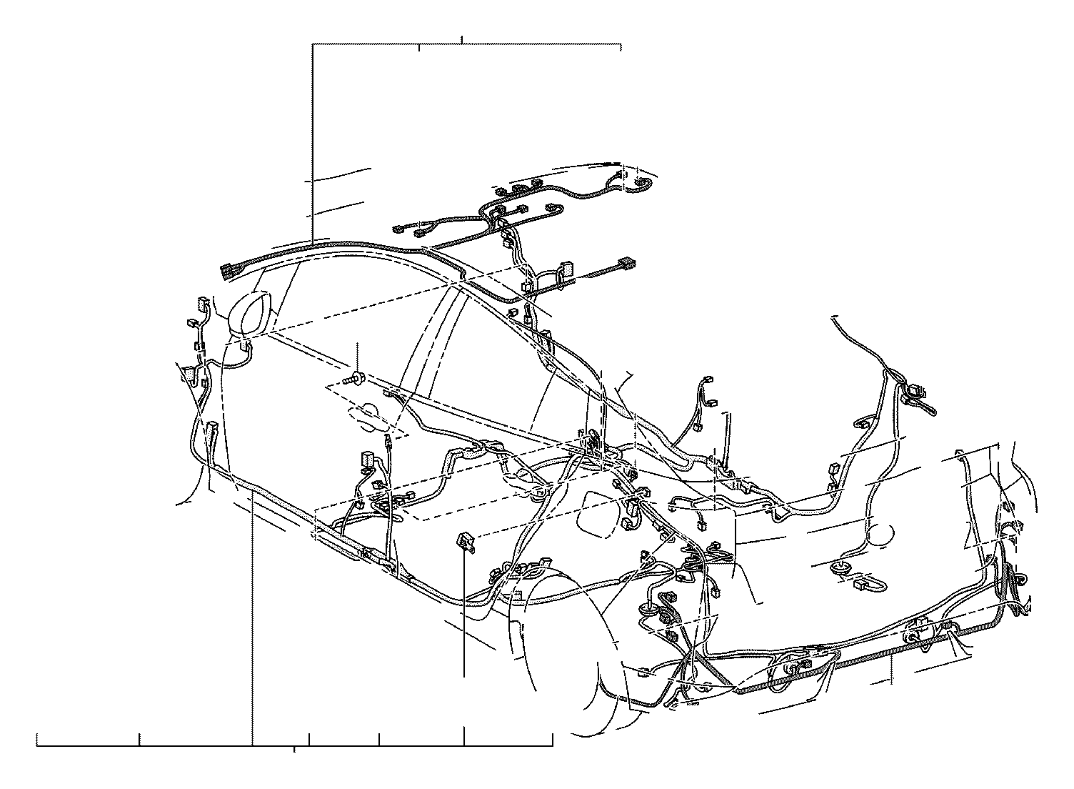 Toyota Prius Wire, roof, no. 1. Electrical, wiring