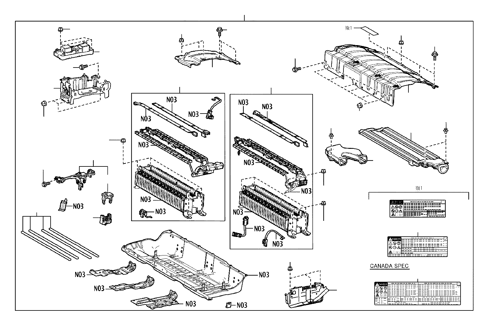 Toyota Camry Computer Assembly Battery Electrical