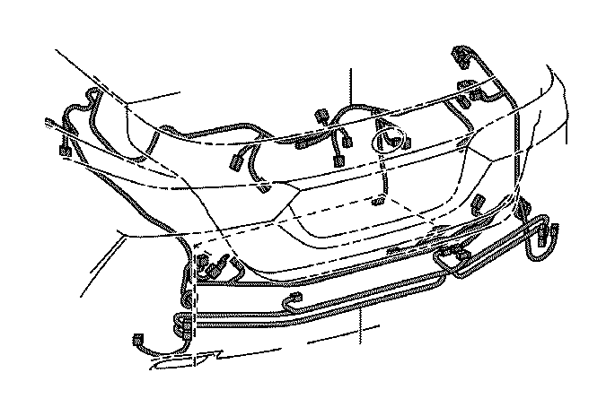 Toyota Camry Wire, luggage room, no. 1. Wiring, electrical