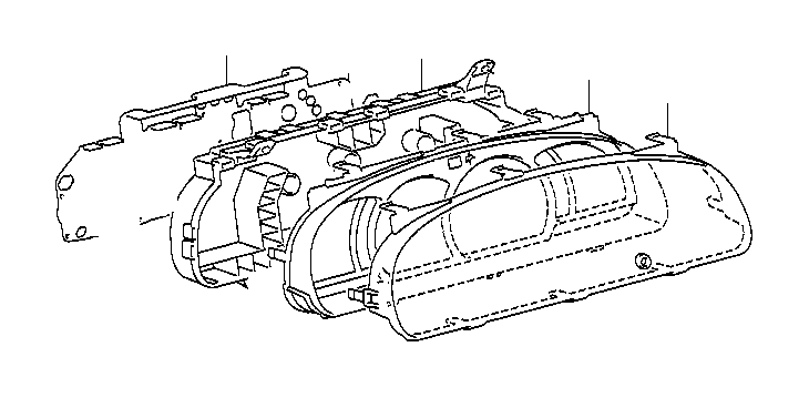 Toyota Tundra Plate, meter circuit. Electrical, meters